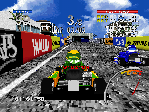 Ayrton Senna Kart Duel 2 Sunsoft Sony PlayStation PSX PSone Xtreme Retro 4
