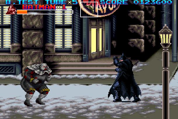 Batman Returns Super Nintendo SNES Konami Beat'em up Xtreme Retro 10