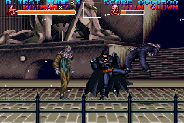 Batman Returns Super Nintendo SNES Konami Beat'em up Xtreme Retro 3