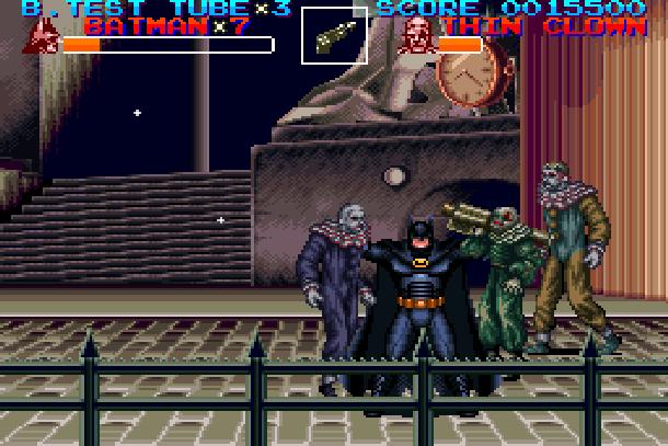 Batman Returns Super Nintendo SNES Konami Beat'em up Xtreme Retro 4