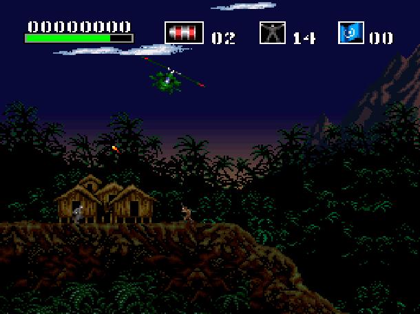 Choplifter III Rescue Survive Shoot'em up Ocean Super Nintendo Xtreme Retro 4
