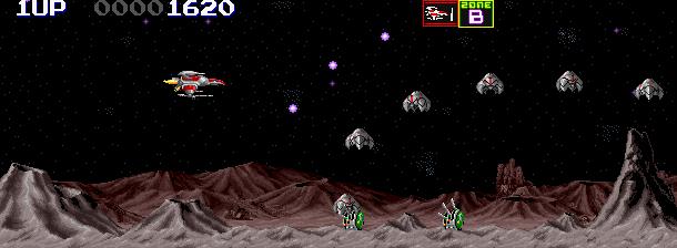 Darius II Sagaia Taito Corporation 1989 Arcade Sega Saturn Shump Xtreme Retro 1