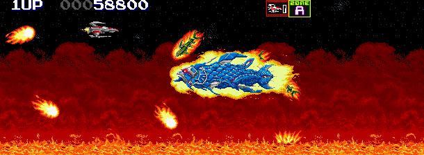 Darius II Sagaia Taito Corporation 1989 Arcade Sega Saturn Shump Xtreme Retro 2