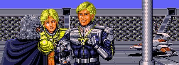 Darius II Sagaia Taito Corporation 1989 Arcade Sega Saturn Shump Xtreme Retro Pixel Art