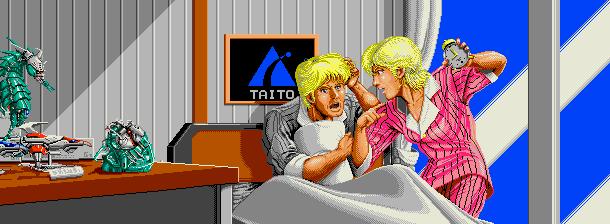 Darius II Taito Arcade Shump Xtreme Retro Pixel Art