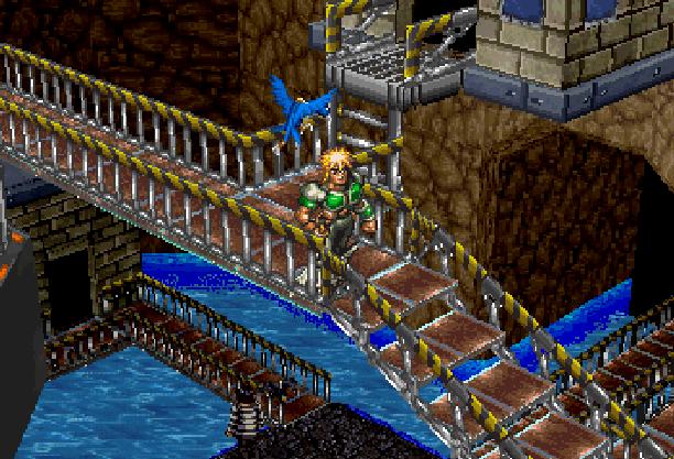 Dark Savior Climax Entertainment Sega Saturn Action RPG Xtreme Retro 2