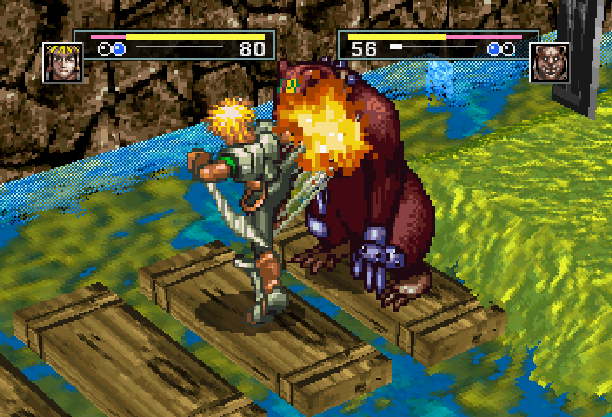 Dark Savior Climax Entertainment Sega Saturn Action RPG Xtreme Retro 5