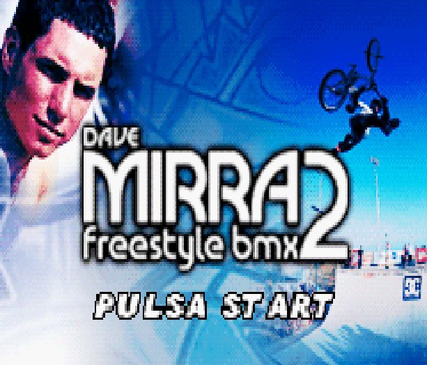 Dave Mirra Freestyle BMX 2 Acclaim Nintendo Game Boy Advance GBA Xtreme Retro 1