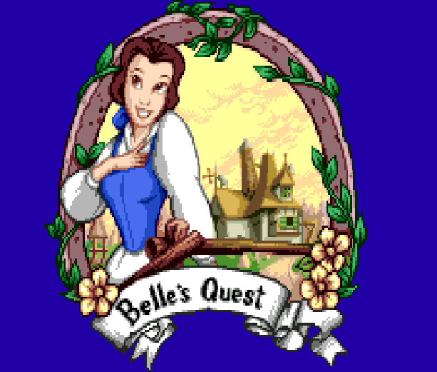 Disneys Beauty & The Beast Belle's Quest Sunsoft Sega Genesis Mega Drive MD Xtreme Retro 2