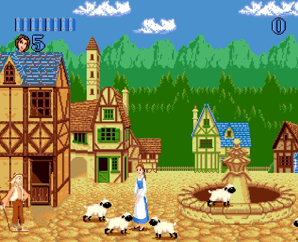 Disneys Beauty & The Beast Belle's Quest Sunsoft Sega Genesis Mega Drive MD Xtreme Retro 3