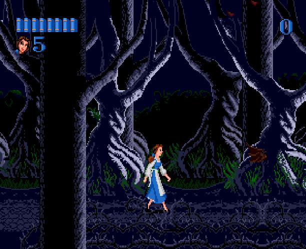 Disneys Beauty & The Beast Belle's Quest Sunsoft Sega Genesis Mega Drive MD Xtreme Retro 4