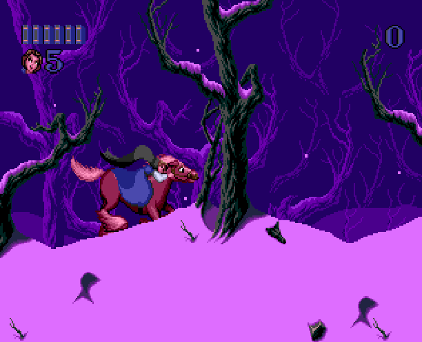 Disneys Beauty & The Beast Belle's Quest Sunsoft Sega Genesis Mega Drive MD Xtreme Retro 5