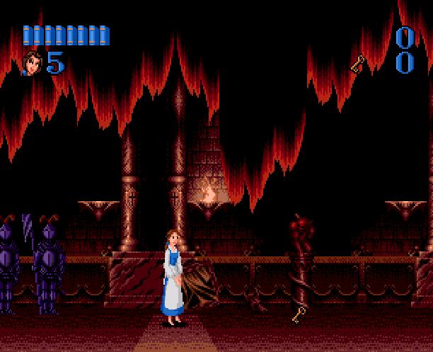 Disneys Beauty & The Beast Belle's Quest Sunsoft Sega Genesis Mega Drive MD Xtreme Retro 6