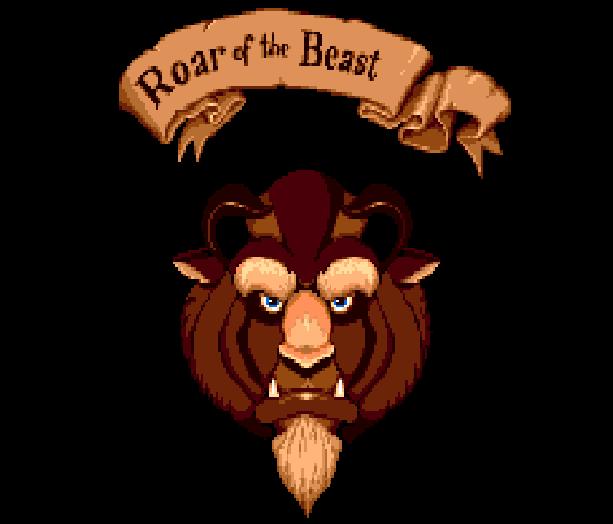 Disney's Beauty and the Beast Roar of the Beast Sunsoft Sega Genesis Mega Drive MD Xtreme Retro 1