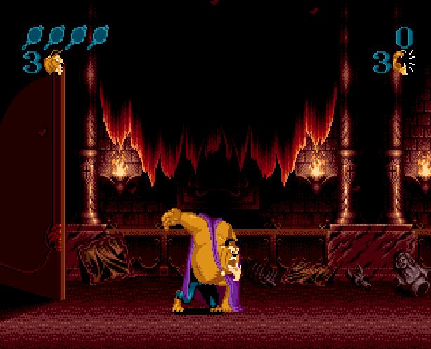 Disney's Beauty and the Beast Roar of the Beast Sunsoft Sega Genesis Mega Drive MD Xtreme Retro 2
