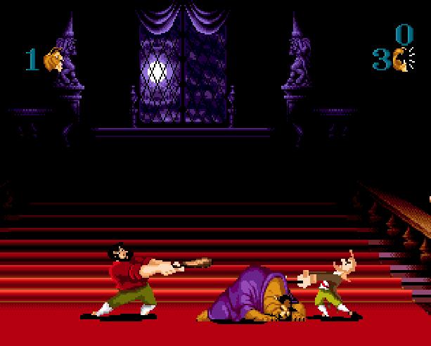 Disney's Beauty and the Beast Roar of the Beast Sunsoft Sega Genesis Mega Drive MD Xtreme Retro 4
