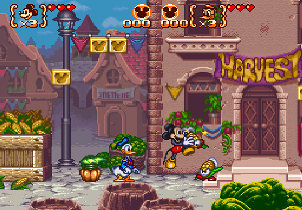 Disneys Magical Quest 3 Starring Mickey & Donald Capcom Super Nintendo SNES Game Boy Advance GBA Xtreme Retro 1
