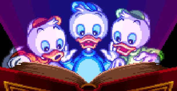 Disneys Magical Quest 3 Starring Mickey & Donald Capcom Super Nintendo SNES Game Boy Advance GBA Xtreme Retro Intro 3