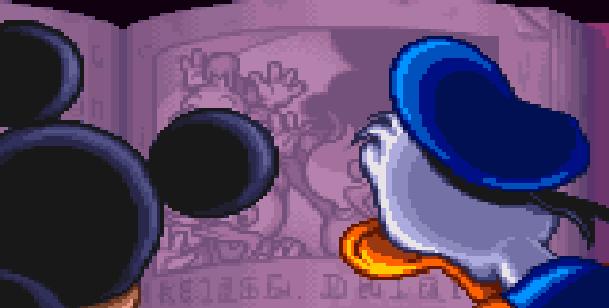 Disneys Magical Quest 3 Starring Mickey & Donald Capcom Super Nintendo SNES Game Boy Advance GBA Xtreme Retro Intro 5