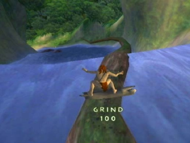 Disneys Tarzan Freeride Untamed Ubisoft Montreal Sony PlayStation 2 PS2 Nintendo GameCube GC Action Adventure Sports Xtreme Retro 1