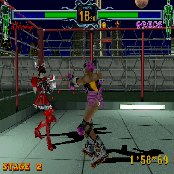 Fighting Vipers Sega AM2 Arcade Coin-op Saturn Xtreme Retro 2