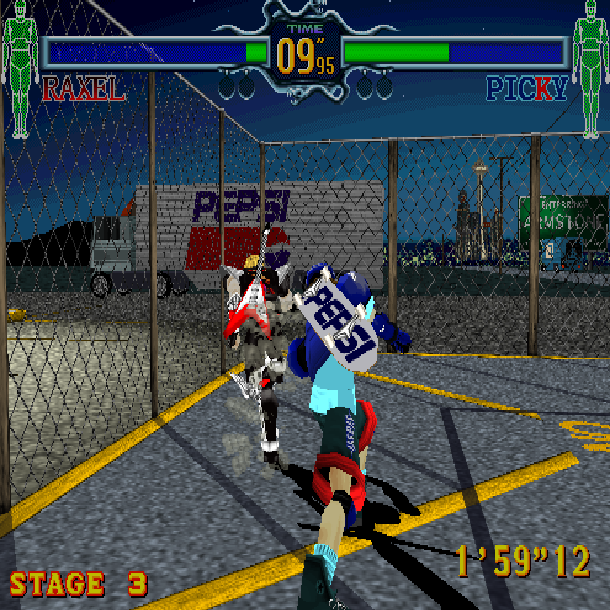 Fighting Vipers Sega AM2 Arcade Coin-op Saturn Xtreme Retro 3