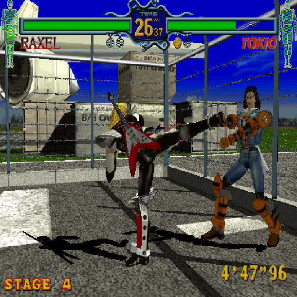 Fighting Vipers Sega AM2 Arcade Coin-op Saturn Xtreme Retro 4