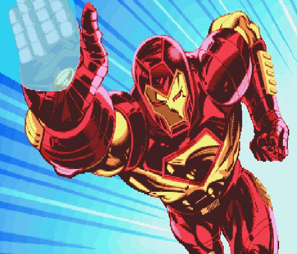 Iron Man Secret Level Sega PlayStation 3 PS3 Xbox 360 PS2 PSP Nintendo Wii DS PC Xtreme Retro Pixel Art