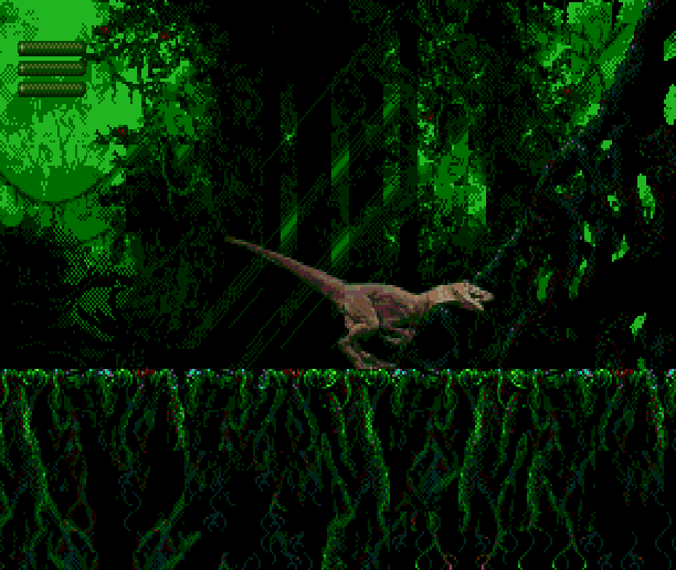 Jurassic Park BlueSky Software Sega Genesis Mega Drive MD Xtreme Retro