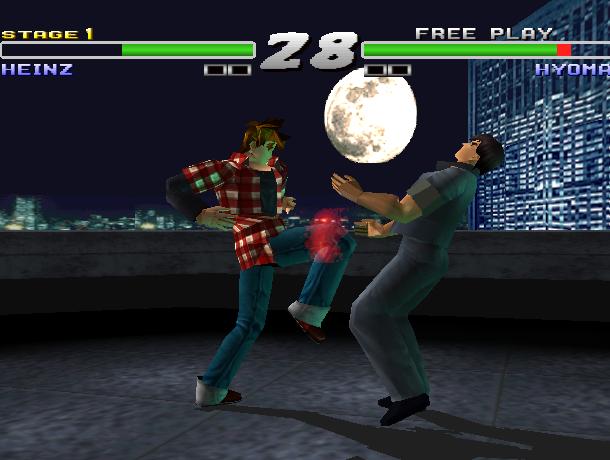 Kensei Sacred Fist Arcade Fighting Konami Sony PlayStation PSX PSone Xtreme Retro 6