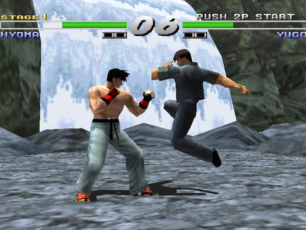 Kensei Sacred Fist Arcade Fighting Konami Sony PlayStation PSX PSone Xtreme Retro 7
