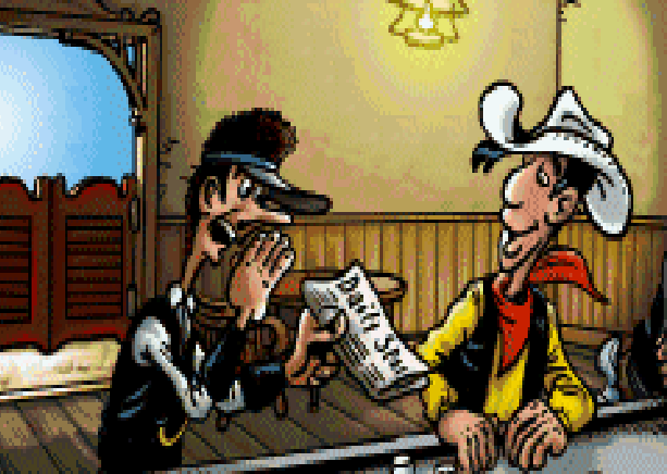 Lucky Luke Wanted! Infogrames Nintendo Game Boy Advance GBA Xtreme Retro 1