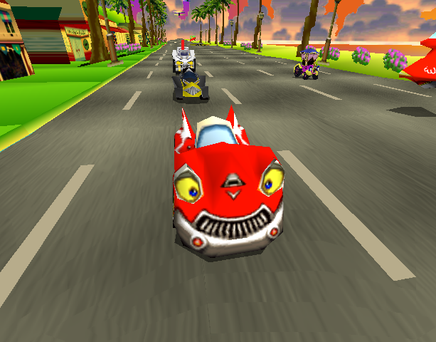 Motor Toon Grand Prix 2 Sony Computer Entertainment PlayStation PSX PSone Xtreme Retro 1