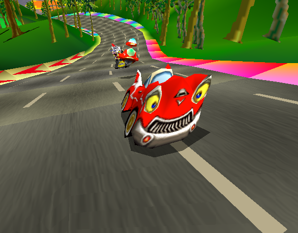 Motor Toon Grand Prix 2 Sony Computer Entertainment PlayStation PSX PSone Xtreme Retro 2