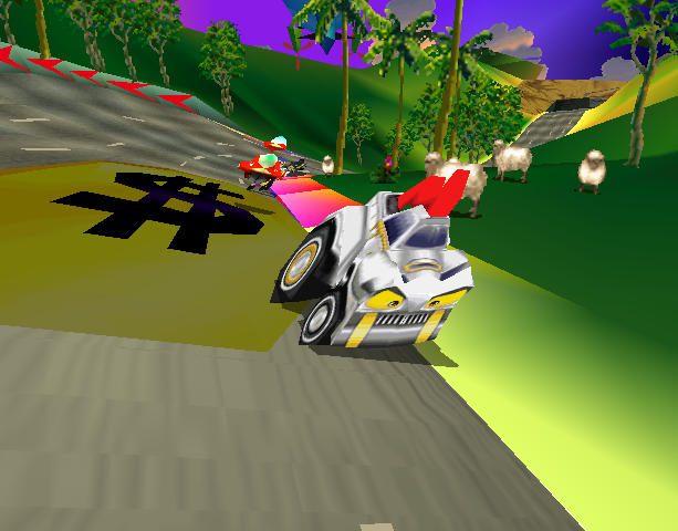 Motor Toon Grand Prix 2 Sony Computer Entertainment PlayStation PSX PSone Xtreme Retro 5