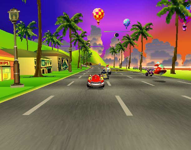 Motor Toon Grand Prix 2 Sony Computer Entertainment PlayStation PSX PSone Xtreme Retro 7