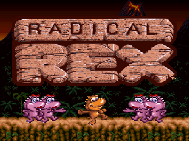 Radical Rex Beam Software Activision Super Nintendo SNES Xtreme Retro 1