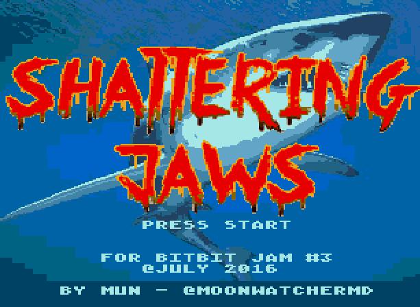 Shattering Jaws Sega Genesis Mega Drive Bitjam Xtreme Retro 1