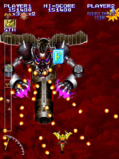 Shippu Mahou Daisakusen Kingdom Grand Prix Raizing Eighting Gaga Comunications Arcade Coin Op Sega Saturn Shump Xtreme Retro 4