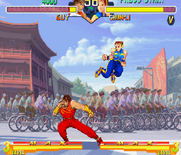 Street Fighter Alpha Zero 2 Capcom Arcade Xtreme Retro 12