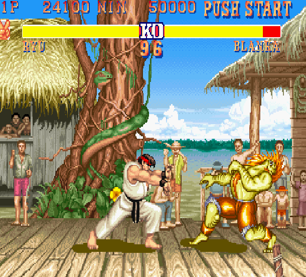 Street Fighter II The World Warrior Capcom Arcade Xtreme Retro