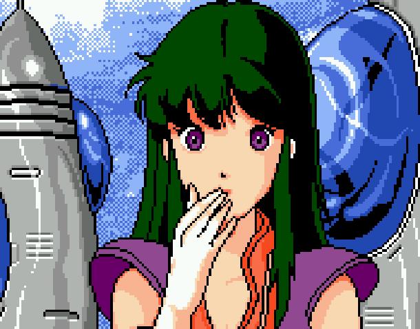 Time Gal Taito Arcade Lasr Disc Pixel Art Xtreme Retro