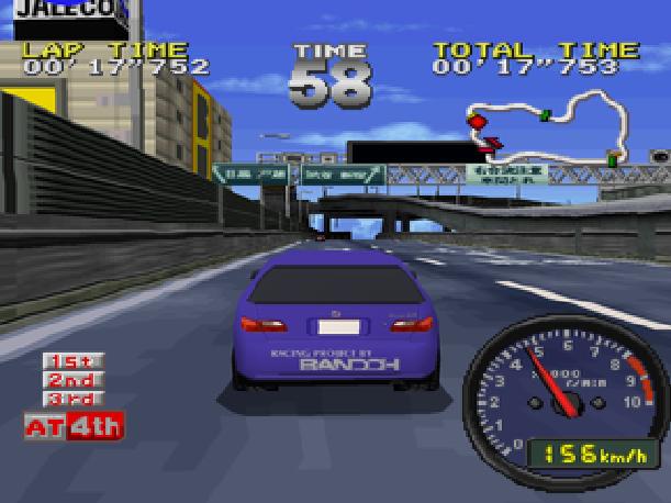 Tokyo Highway Battle Drift King Sega Saturn Sony PlayStation PSX PSone Jaleco Genki Xtreme Retro 2