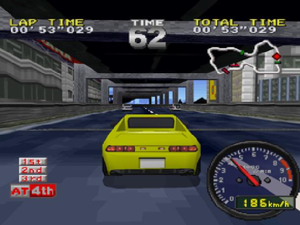 Tokyo Highway Battle Drift King Sega Saturn Sony PlayStation PSX PSone Jaleco Genki Xtreme Retro 3