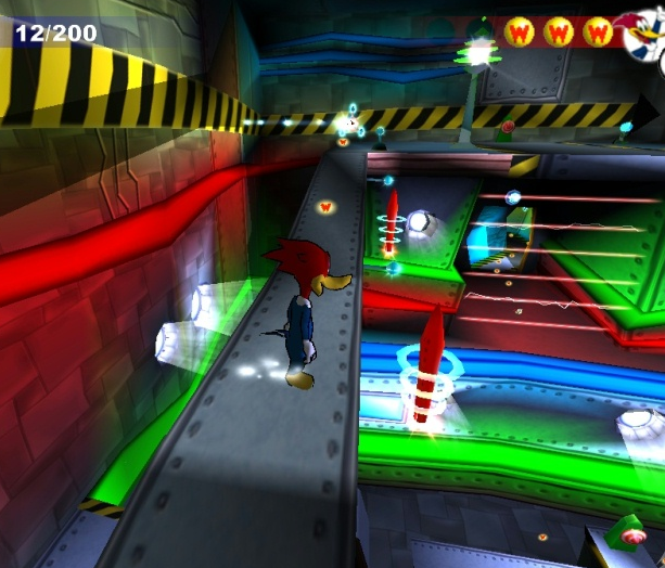 Woody Woodpecker Escape from Buzz Buzzard Park Infogrames PlayStation 2 PS2 PC Xtreme Retro 1
