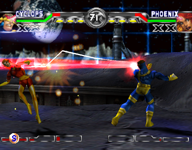X-Men Mutant Academy 2 Activision Arcade Fighting Sony PlayStation PSX PSone Xtreme Retro 1