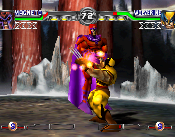 X-Men Mutant Academy 2 Activision Arcade Fighting Sony PlayStation PSX PSone Xtreme Retro 11