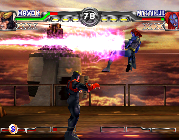 X-Men Mutant Academy 2 Activision Arcade Fighting Sony PlayStation PSX PSone Xtreme Retro 12