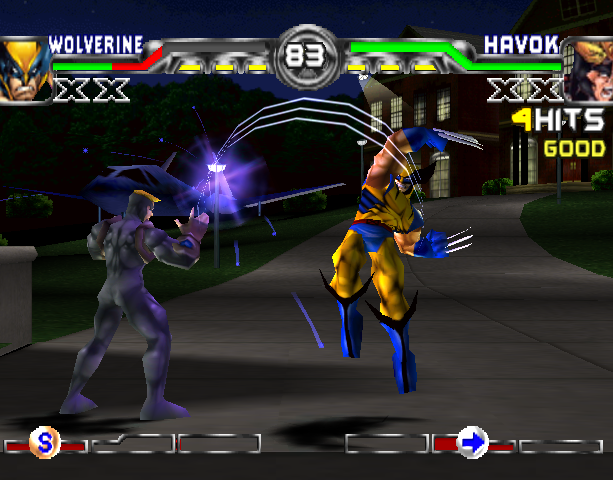X-Men Mutant Academy 2 Activision Arcade Fighting Sony PlayStation PSX PSone Xtreme Retro 3