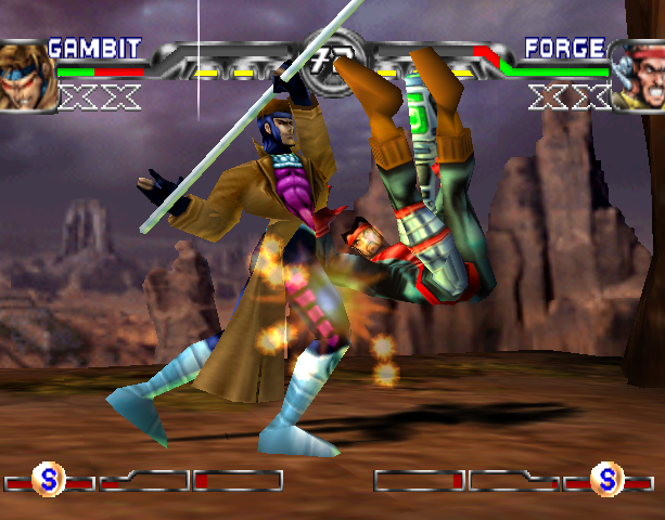 X-Men Mutant Academy 2 Activision Arcade Fighting Sony PlayStation PSX PSone Xtreme Retro 4